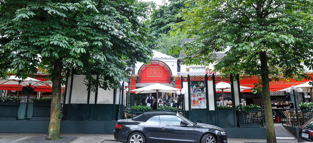 Repérage décor de la « Brasserie Georges » à Bruxelles - 10S